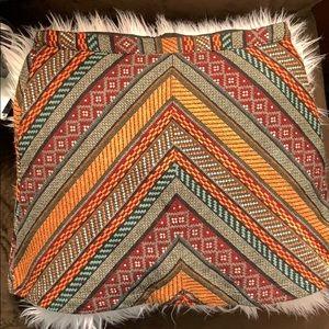Colorful forever 21 bordered skirt